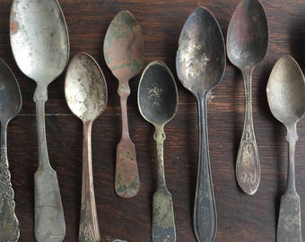History of Spoons - An Origingal Assemblage Celebrating the Well-Loved Utensil