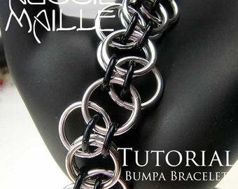 Chain Maille  Tutorial - Bumpa Bracelet