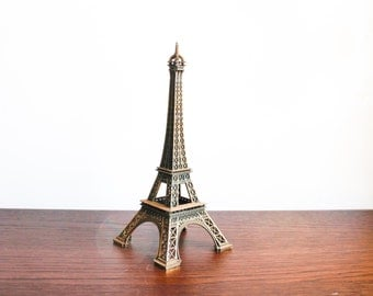 Large Vintage Eiffel Tower