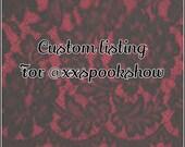 Custom Order~