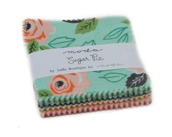 Sugar Pie (5040MC) by Lella Boutique - Mini Charm Pack