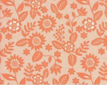Sugar Pie (5041 18) Orange Lace Garden by Lella Boutique