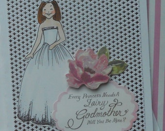 Every Princess Needs A Fairy Godmother Card