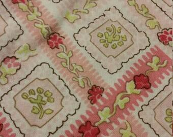 pretty pink print fabric