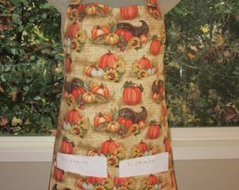 womens aprons - full aprons - aprons for women - horn of plenty