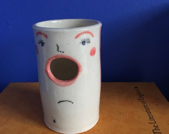 Singing Face Vase