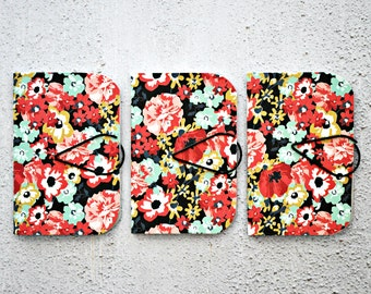 SALE {3} Floral Pink Mini Books | Mini Journals | Blank Books | Mothers Day | Stocking Stuffer | Gift under 10 | Teacher Gifts