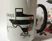 Best Friends Apart Coffee Mug