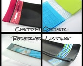 Reserved Listing - Custom Design Fused Glass Plate for Shersher