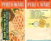 Vintage Pyrex Ware Advertising Booklet, Catalog, 1945 Pyrex Catalog, Illustrated Booklet, Pyrex Glassware, Recipe Booklet, Vintage Kitchen