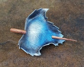 Winter Sycamore Leather Leaf Hair Cup