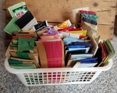 Huge lot of Vintage Trims, Rick Rack, Seam Binding Sewing Supplies