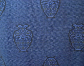 Vintage haori S421,  Oshima silk