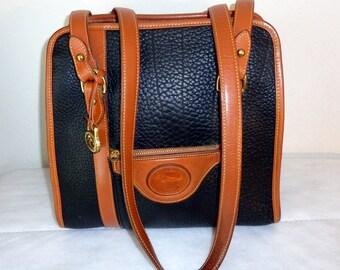 Dooney and Bourke USA R 715 Vintage Shopper tote ,Satchel, Boston bag, Doctors bag AWL vintage 90s  purse,excellent  condition Dooney