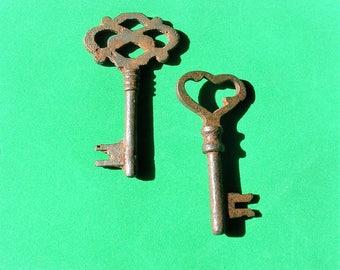Antique Vintage Skeleton Key Keys Steampunk Jewelry Ornate Key DIY Jewelry Keys