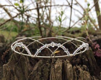 Celtic Medieval Renaissance Wedding Tiara Bridal Headpiece