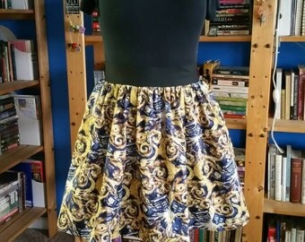 Exploding Tardis Skirt with Pockets