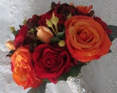 Reserved listing for.....volleyballchamp1.....Red rose boutonnieres