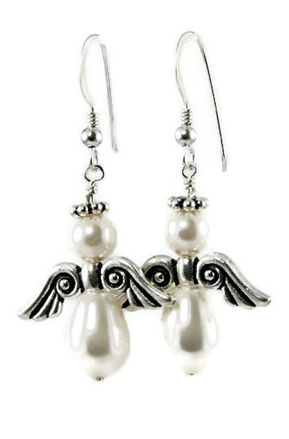 Angel Earrings - Choose Color