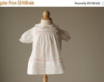 25% OFF SALE 1940s Mitzi Spring Dress~Size 3 Months