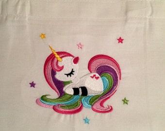 Unicorn Embroidery - Tote Bag