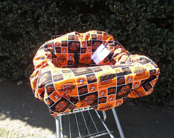 OSU  baby shopping cart cover/ high chair cover