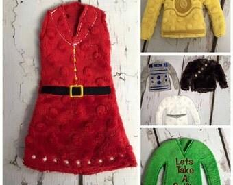 "12"" elf doll sweaters"