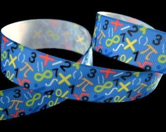 Pi Day Ribbon, Math Ribbon, Scientific Ribbon, Geek Ribbon, Nerd Ribbon, Science Ribbon, Laboratory Ribbon, Novelty Ribbon, Formula Ribbon