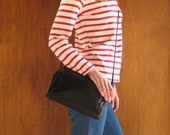 COACH navy blue cross body purse