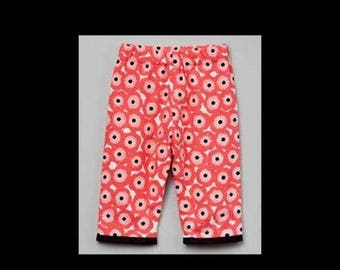 On SALE 60% OFF Poppy Pants - Woodland - Pink Pants - Flowers - Toddler Pants - Girls Pants - Toddler - Bottoms - Cotton - Pink - Poppies -