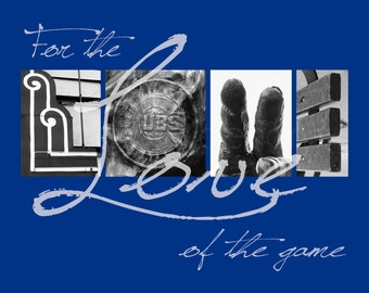 "Chicago Cubs ""For the Love of the Game"" Photographic Print"