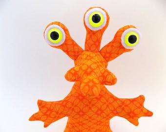 Alien Toy, Alien Plush, Cute Alien, Weird Toy, Toys for Boys, Stuffed Animal, Monster Toy, Monster Plush by Adopt an Alien named Hubert
