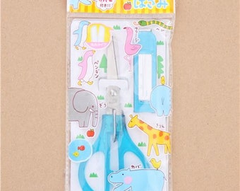 212610 blue cover pretty scissor with blue handle from Japan