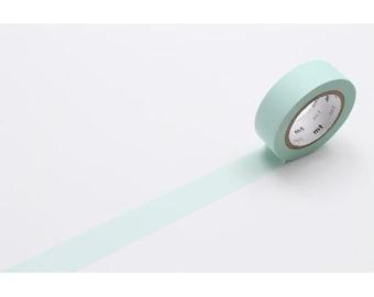 208858 mt Washi Masking Tape deco tape solid pastel green