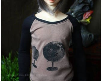 ABJD Dollfie CP SD Delf Casual long sleeve Contrast Tee