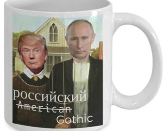 Russian Gothic, Trump Putin