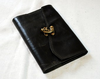 2017 Deep Forest Green Refillable Leather Planner