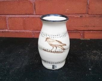 Edgar Allan Poe Inspired Spirit Vase by Bunny Safari