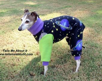 READY TO SHIP - Galaxy Fleece Dog Pajama