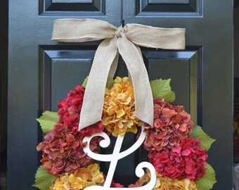 Christmas wreath sale thanksgiving decor by elegantwreath on etsy - Thanksgiving decorations on sale ...