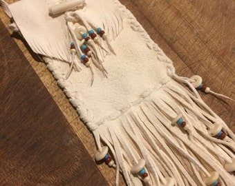Deer hide Medicine bag