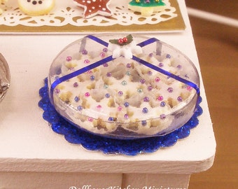 Christmas Cookies  - Dollhouse Miniature Food Handmade