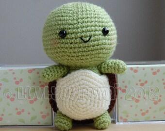 Turtle Amigurumi Pattern