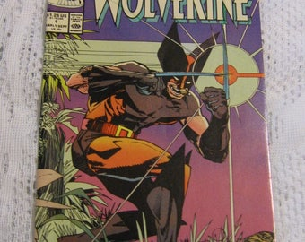 1988 Marvel Wolverine Comic Book - Mint Condition