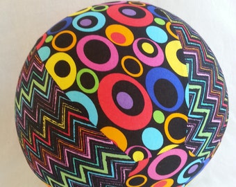 Balloon Ball - Rainbow Bright - Party Favor, Birthday Gift, or Decoration