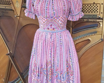 SOLD - Fabulous Vintage Handmade Women's Dress
