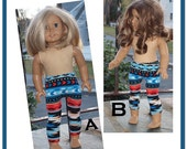 18 inch Dolls Clothes - Made in America -  Girl Doll - Clothes -  Leggings - Jeggings