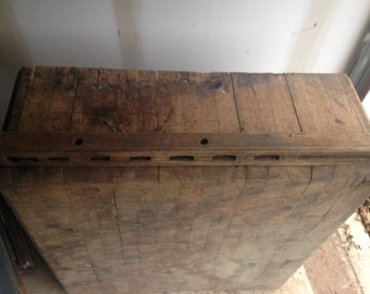SALE!  Antique Butcher Block Chester County,PA Store With Original Handmade Tools