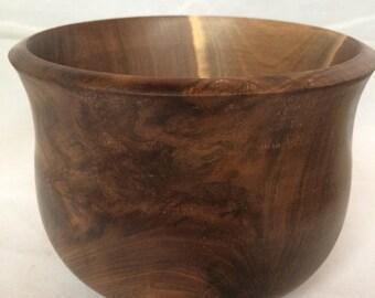 Burl Walnut Hand-turned Bowl