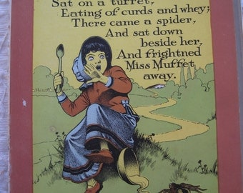 93 Full Color Original Book Plates From Old Mother Hubbard 1902 Ready for Frame or Reprint